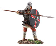 Wm. Britain Saxon Warrior Shield Wall Defender No.1