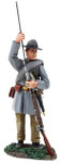 Wm. Britain Confederate Infantry Standing Ramming in Frock Coat No.1