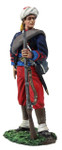 Wm. Britain Federal Infantry 114th Pennsylvania Zouaves Reaching for Cartridge No.1