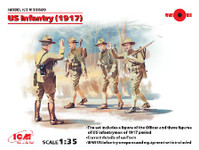 ICM Models  WWI US Infantry 1917