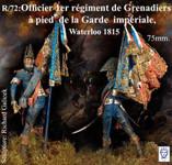 Alexandros Models - Officer porte-aigle des Grénadiers de la Garde, 1815