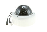 720p AHD Megapixel 2.8-12mm 30 IR LEDs Varifocal Aluminum Vandalproof Color Dome Camera