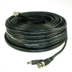 Five Star Cable ETL Listed 60 feet RG59 siamese cable for CVI, TVI, AHD and HD-SDI camera system with BNC connectors