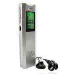 560 Hours Multi-Function Voice Digital Recorder 2GB