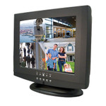 """4 Channel DVR Security System MPEG-4 All-in-one 15"""" LCD Digital Video Recorder"""
