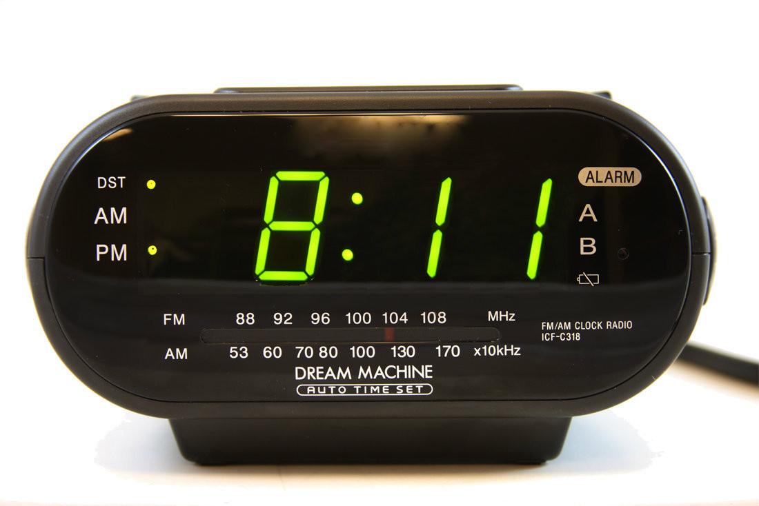 hidden cameras nanny cameras sony digital clock espymall. Black Bedroom Furniture Sets. Home Design Ideas