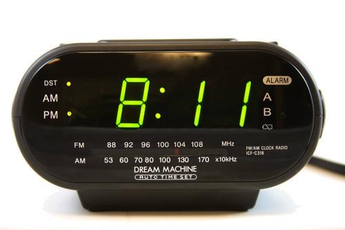 Radio Clock Built-in DVR Hidden Spy Camera