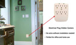 Outlet Wall-Mount Surge Protector DVR Rechargeable  Hidden Spy Camera