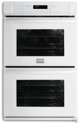 """Frigidaire Gallery 30"""" Convection Double Electric White Wall Oven FGET3045KW"""