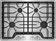 """Frigidaire Gallery 30"""" Continuous Cast Iron Grates Stainless Steel Gas Cooktop FGGC3045QS"""