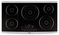 """LG Studio 36"""" Radiant Smoothtop Stainless Steel Cooktop LSCE365ST"""