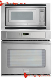 "Frigidaire Professional 27"" Stainless Steel Electric Wall Oven/Microwave Combo FPEW2785PF_FPMO209KF_MWTKP27KF"