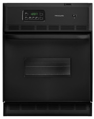 "Frigidaire 24"" Single Electric Black Wall Oven"