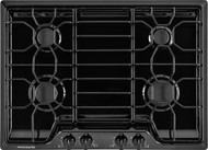 "Frigidaire 30"" Black Gas Cooktop with 4 Sealed Burners FFGC3010QB"