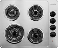 "Frigidaire 26"" Stainless Steel Electric Coil Cooktop FFEC2605LS"