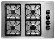 """Frigidaire 30"""" Stainless Steel Gas Cooktop FFGC3015LS"""