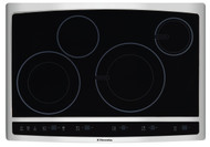 "Electrolux 30"" Stainless Steel Induction Hybrid Smoothtop Cooktop EW30CC55GS"