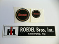 Late Scout II Horn Button Decals