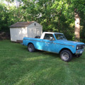 1980 International Harvester Scout Terra pickup 4x4 -- SOLD