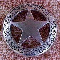 Texas Ranger Star Concho