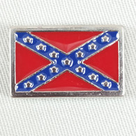 Confederate Rebel Battle Flag Concho Pride and Heritage Not Hatred
