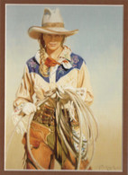 ART-TKM-00002 Western Cowgirl Print