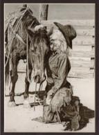 ART-RA-00001  Western Cowgirl Print