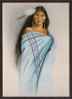 ART-SH-00001  Native American Art Print