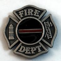 Fireman Cross Concho Red Line
