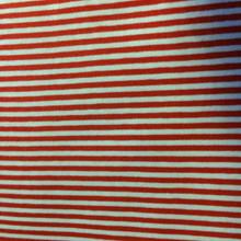 Red White Thin Stripe