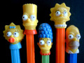 Simpsons set of 5 from 2000-loose