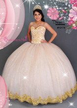 Tulle Skirt Princess Quinceanera Dress #10174JES