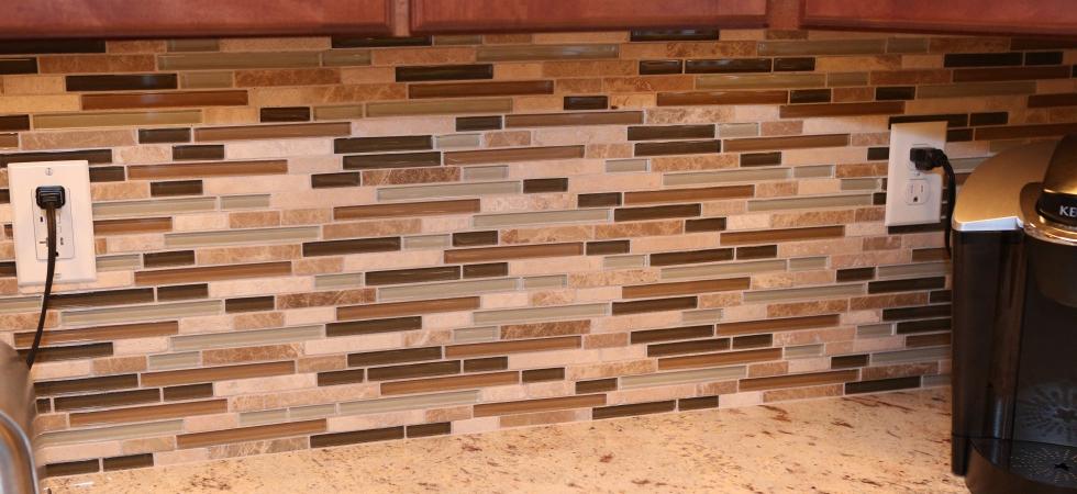 BELK Tile Backsplash Glass Tiles Metal Mosaics Switchplates