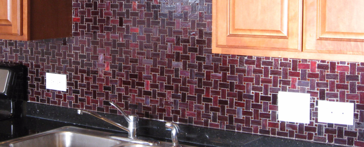 Stained Glass Mosaic Tile