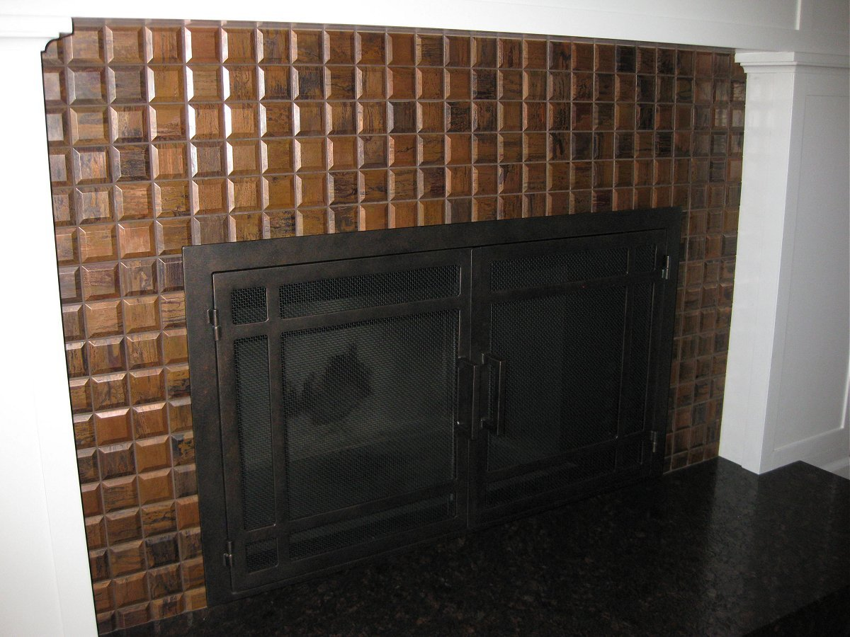 Project of the Month Winner August 2016 Fireplace