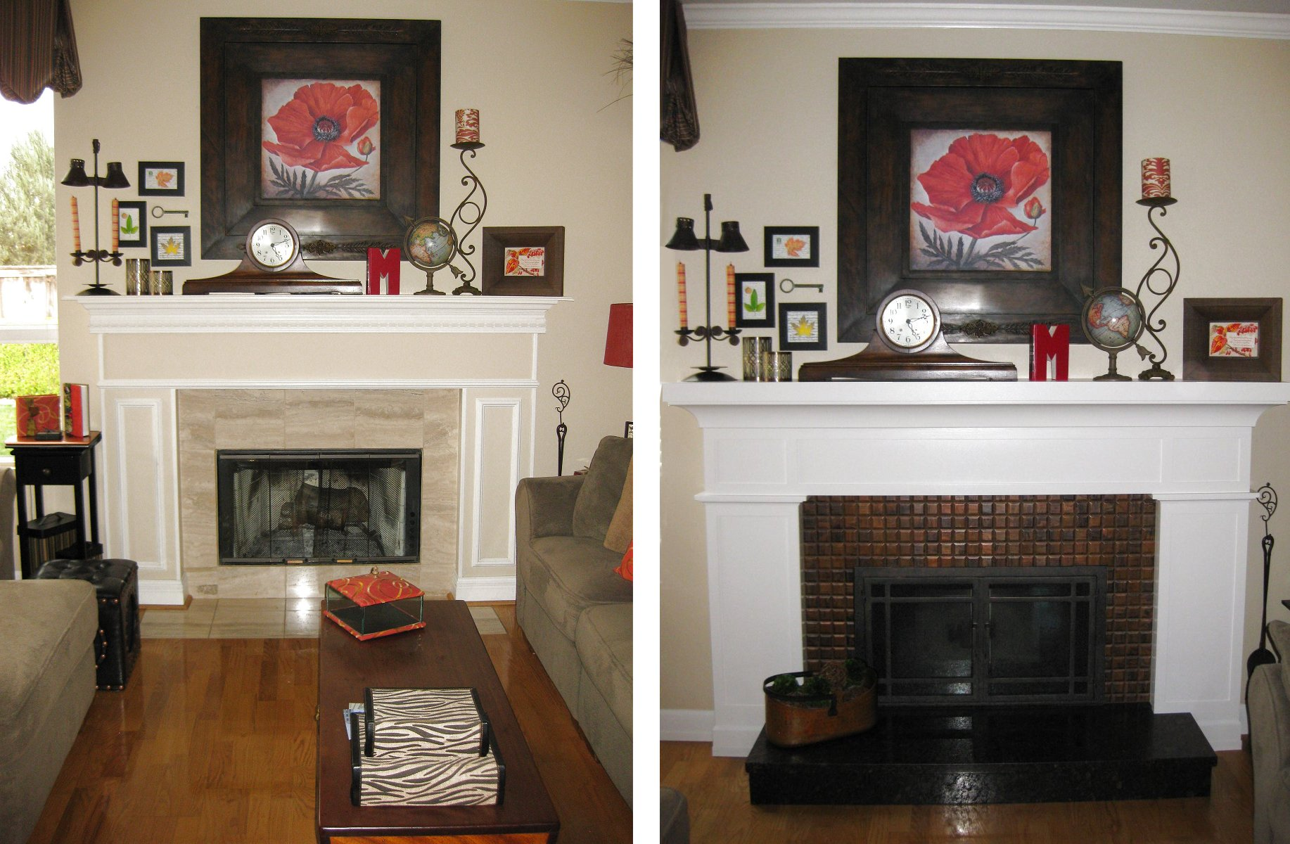 Project of the Month Winner August 2016 Fireplace View