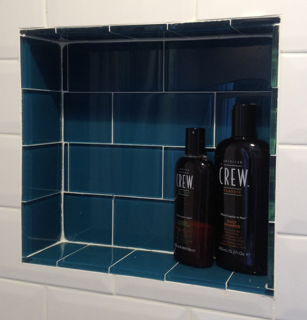 Dark Teal Subway Tiles
