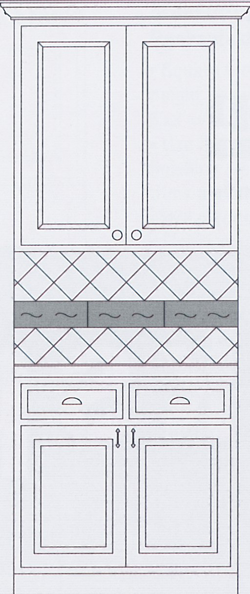 Kitchen Backsplash Idea #2