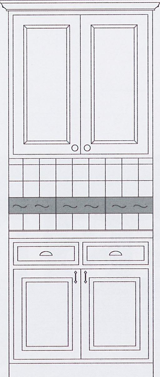 Kitchen Backsplash Idea #3