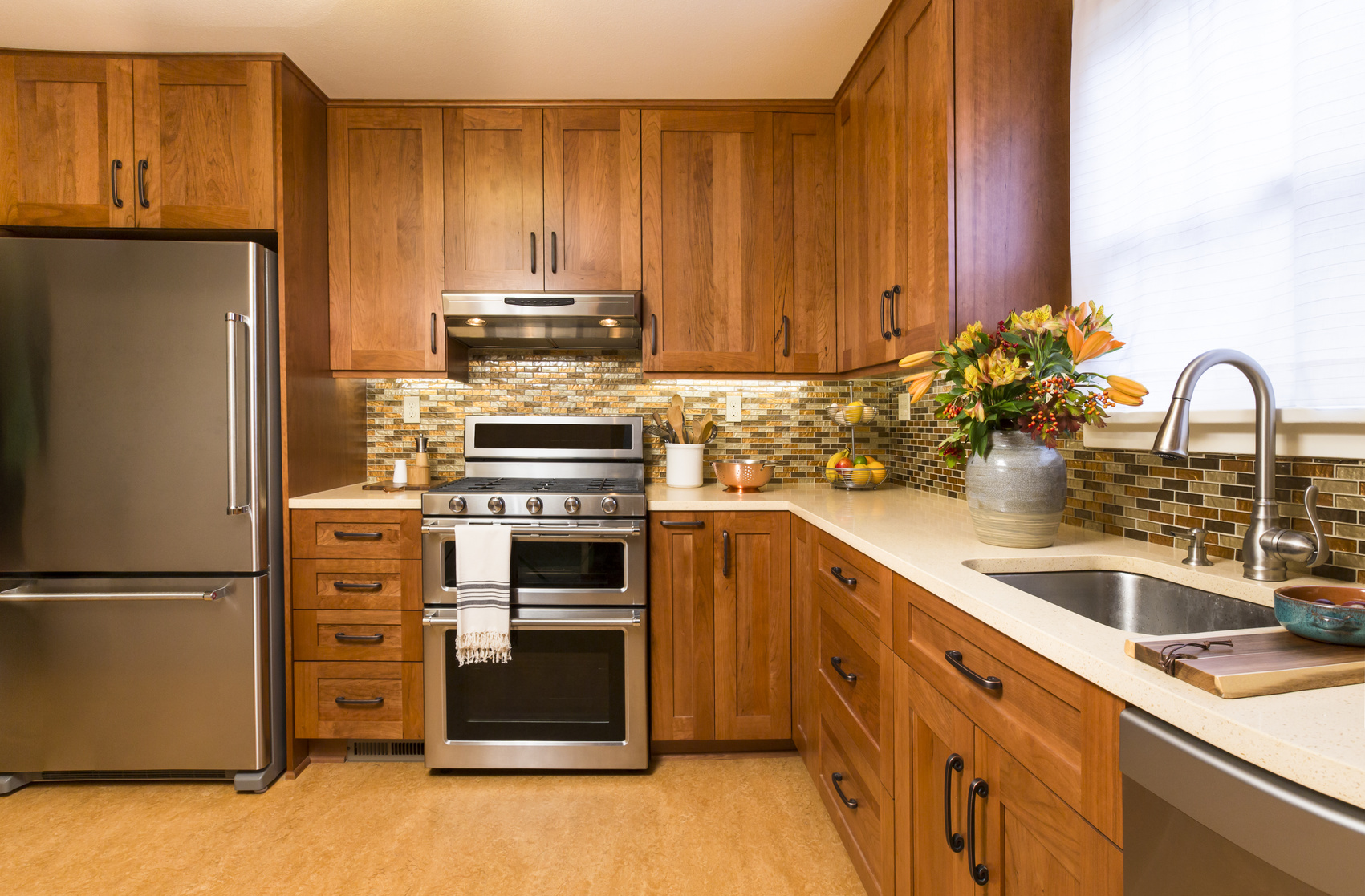 Kitchen Backsplash tiles by BELK Tile