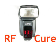 Canon Speedlite 580EX II flash modification for PocketWizard
