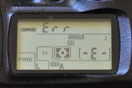 "D80 and D90  Aperture Control Unit / ""Err"" Message"