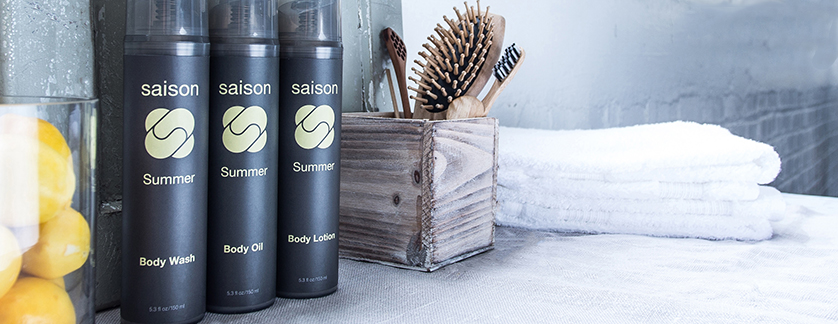 Saison Summer Body Collection - Organic and Natural