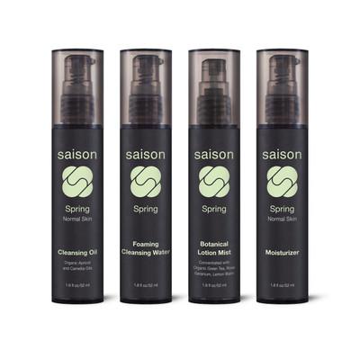 Saison | Spring Face Collection Gift Set | Organic Skincare
