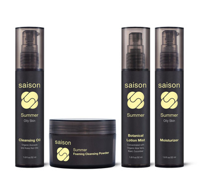 Saison | Summer Face Collection Gift Set | Organic Skincare