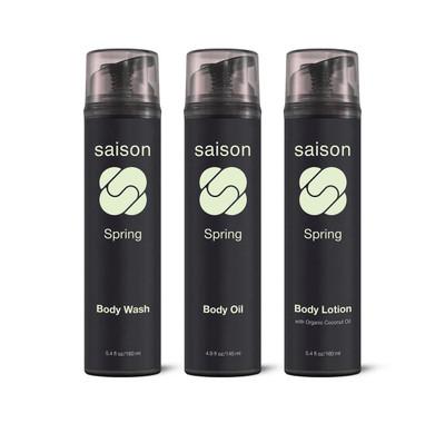 Saison | Spring Body Collection Gift Set | Organic Skincare