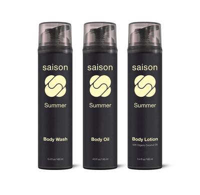 Saison | Summer Body Collection Gift Set | Organic Skincare