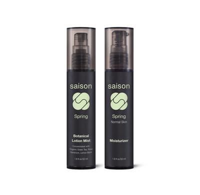 Saison | Spring Face Moisturizing Duo Gift Set | Organic Skincare
