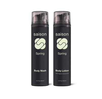 Saison Beauty Spring Body Essentials Gift Set | Organic Skincare