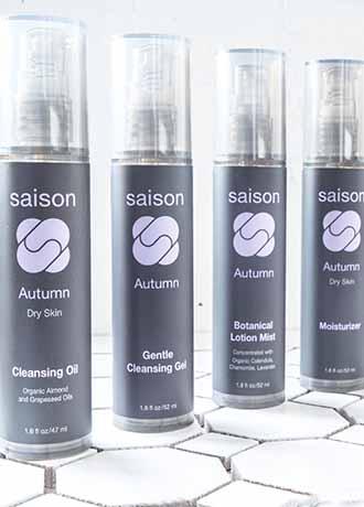 Saison 4-Step Skincare Regimen
